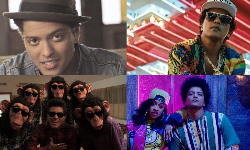 「Bruno Mars(ブルーノ・マーズ)のおすすめ人気曲・アルバム」のアイキャッチ画像